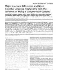 Plos Biology : Major Structural Differen... by Relman, David A.