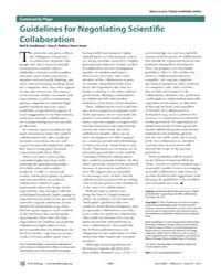 Plos Biology : Guidelines for Negotiatin... by Smalheiser, Neil R.