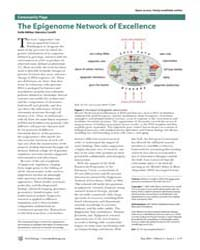Plos Biology : the Epigenome Network of ... by Akhtar, Asifa