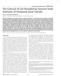 Plos Biology : the Cobweb of Life Reveal... by Hillis, David