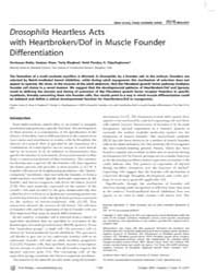 Plos Biology : Drosophila Heartless Acts... by Leptin, Maria