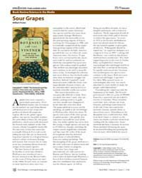 Plos Biology : Sour Grapes, Volume 4 by Foster, William