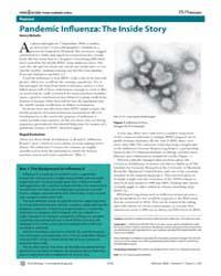 Plos Biology : Pandemic Infl Uenza ; the... by Nicholls, Henry