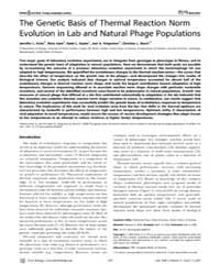 Plos Biology : the Genetic Basis of Ther... by Noor, Mohamed