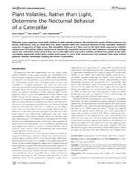 Plos Biology : Determine the Nocturnal B... by Agrawal, Anurag