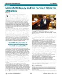 Plos Biology : Scientifi C Illiteracy an... by Gross, Liza
