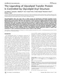 Plos Biology : the Liganding of Glycolip... by Hughson, Fred