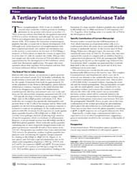 Plos Biology : a Tertiary Twist to the T... by Koning, Frits