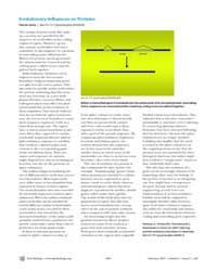 Plos Biology : Evolutionary Infl Uences ... by Jones, Rachel