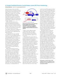 Plos Biology : a Simple Feedback Resisto... by Robinson, Richard