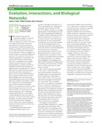 Plos Biology : Evolution, Interactions, ... by Weitz, Joshua S.