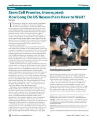 Plos Biology : Stem Cell Promise, Interr... by Gross, Liza