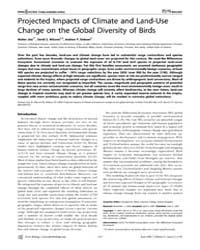 Plos Biology : Projected Impacts of Clim... by MacE, Georgina M.