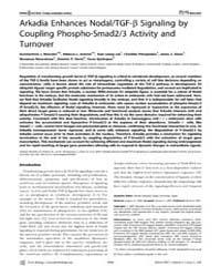 Plos Biology : Arkadia Enhances Nodal, V... by Hamada, Hiroshi
