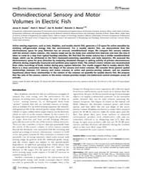Plos Biology : Omnidirectional Sensory a... by Maler, Leonard