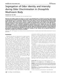 Plos Biology : Segregation of Odor Ident... by Dickson, Barry