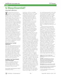 Plos Biology : is Sleep Essential, Volum... by Cirelli Chiara