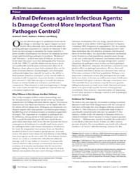 Plos Biology : Animal Defenses Against I... by Read, Andrew F.