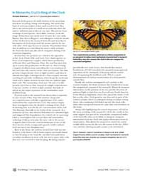 Plos Biology : in Monarchs, Cry2 is King... by Robinson, Richard