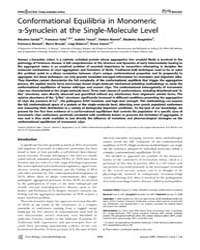 Plos Biology : Conformational Equilibria... by Sandal, Massimo