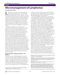 Plos Biology : Micromanagement of Lympho... by Arpaia, Enrico