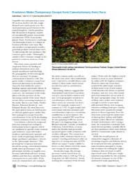 Plos Biology : Predators Make Temporary ... by Gross, Liza
