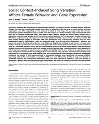 Plos Biology : Social Context–induced So... by Woolley, Sarah C.