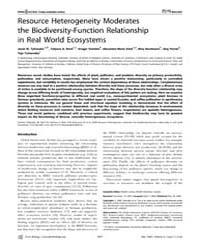 Plos Biology : Resource Heterogeneity Mo... by Tylianakis, Jason M.