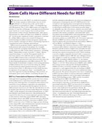 Plos Biology : Stem Cells Have Different... by Hermanson, Ola