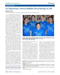 Plos Biology : It's Elementary ; Science... by Fink, Rachel D.