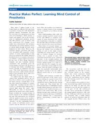 Plos Biology : Practice Makes Perfect ; ... by Sedwick, Caitlin