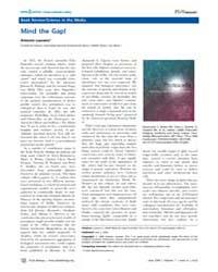 Plos Biology : Mind the Gap!, Volume 7 by Lazcano, Antonio
