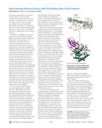 Plos Biology : Gene Sharing Yields an En... by Sedwick, Caitlin
