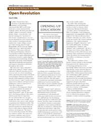 Plos Biology : Open Revolution, Volume 7 by Eddy, Sean R.