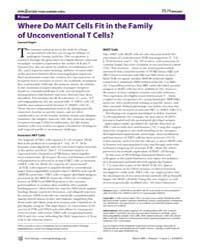 Plos Biology : Where Do Mait Cells Fit i... by Gapin, Laurent
