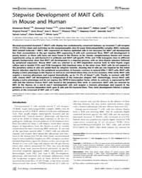 Plos Biology : Stepwise Development of M... by Cerundolo, Vincenzo