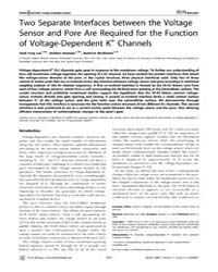 Plos Biology : Two Separate Interfaces B... by Clapham, David E.
