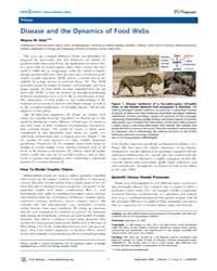 Plos Biology : Disease and the Dynamics ... by Getz, Wayne M.