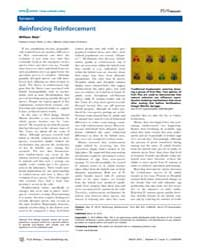 Plos Biology : Reinforcing Reinforcement... by Mair, William