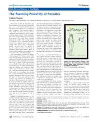 Plos Biology : the Alarming Proximity of... by Thomas, Frédéric