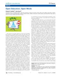 Plos Biology : Open Education, Open Mind... by Kerfeld, Cheryl A.