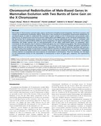 Plos Biology : Chromosomal Redistributio... by Barton, Nick H.