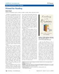 Plos Biology : Primed for Reading, Volum... by Boyd, Robert