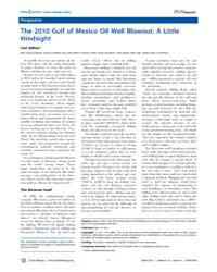 Plos Biology : the 2010 Gulf of Mexico O... by Public Library of Science (Plos)