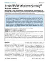 Plos Biology : Neurosteroid Dehydroepian... by S. Dillon, Joseph