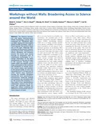 Plos Biology : Workshops Without Walls ;... by Boyd, Eric S.