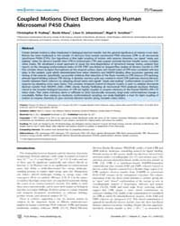 Plos Biology : Coupled Motions Direct El... by Chance, Mark R.