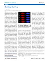 Plos Biology : Doubling the Dose, Volume... by Public Library of Science (Plos)