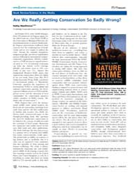 Plos Biology : Are We Really Getting Con... by Public Library of Science (Plos)