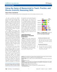 Plos Biology : Using the Game of Masterm... by Public Library of Science (Plos)